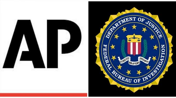 The FBI was condemned by media outlets for violating the public's trust. (Images courtesy of AP and FBI)