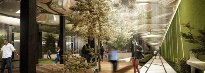 Solar Technology Could Make Underground Parks In Cramped Cities Possible