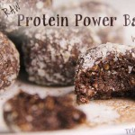 Raw Power Protein Balls with Cacao, Hemp, Chia Seeds and Flax Seeds