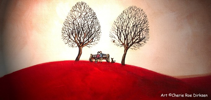 The Lovers Bench by Cherie Roe Dirksen