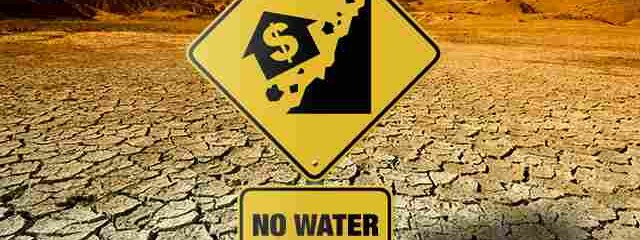 California Real Estate Implosion Now Inevitable As Property Values Collapse Due to Water Shut-offs