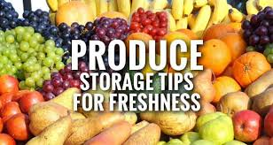 Food Storage Tips