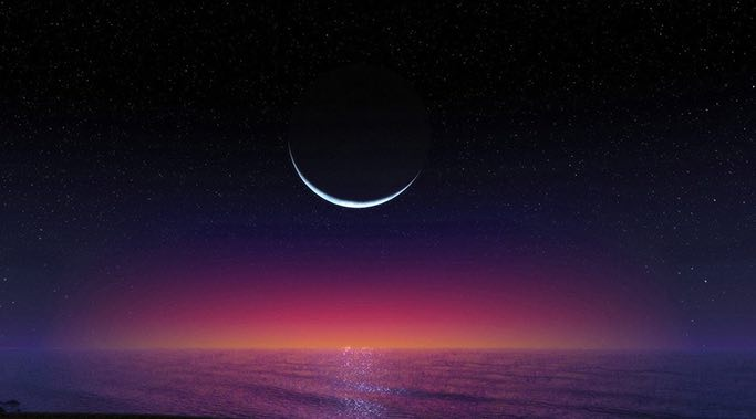 beautiful new moon
