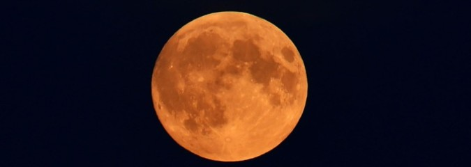 Timelapse of Supermoon Eclipse