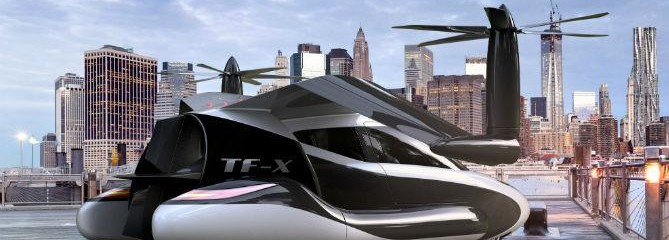 Self-Driving Flying Car to Take Off in Two Years