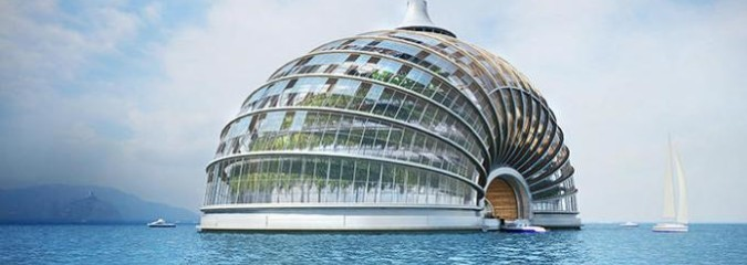 Is This Floating 'Ark Hotel' a Fantasy or a Viable Solution to Rising Sea Levels?
