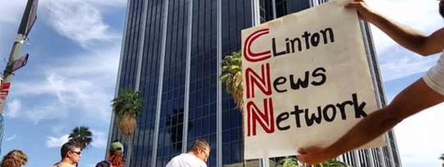 Occupy CNN: Over 1,000 Protestors Picket the Network for Its Lack of Sanders Coverage