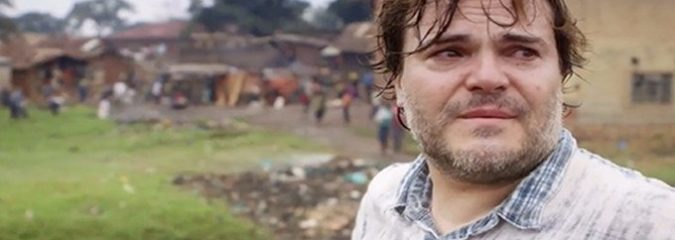 Watch a Homeless Ugandan Boy Move Funny Man Jack Black To Tears