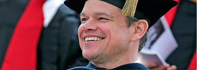 Watch Matt Damon Slam Donald Trump, Wall Street and[WP1]  THE Media in Hilarious MIT Speech