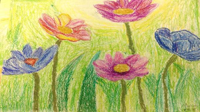 flowers drawing-compressed