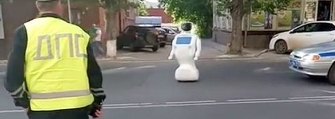 Self-Learning Robot Escapes Testing Ground and Goes Missing for 45 Minutes