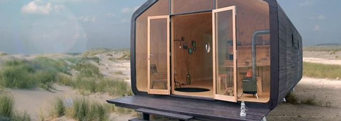 This Sustainable Tiny House Can Be Built In a Day, Lasts a Lifetime and Is Made of Cardboard (Really!)