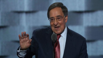 """Ex-CIA Chief's Speech Repeatedly Disrupted by Chants of """"No More War"""" at DNC"""