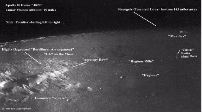 Prominent U.S. Defense Physicist Admits There are Alien Structures on the Moon