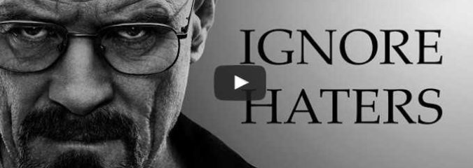 Morning Inspiration: How To Ignore Haters (Motivational Video)