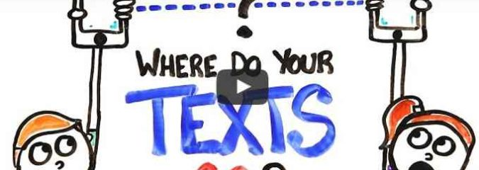 Where Do Your Texts Go? (Video)