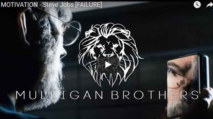 Morning Inspiration: How to Get Over Failure (Motivational Video with Steve Jobs)