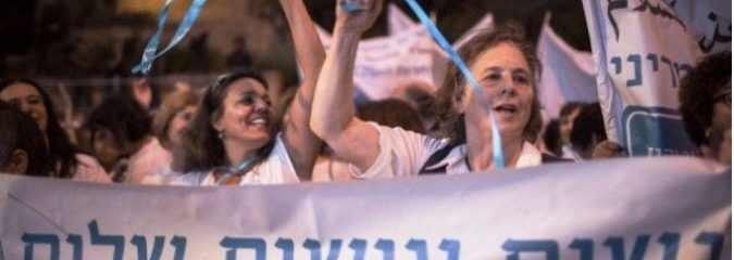 Promoting Peace: A Large Number of Israeli and Palestinian Women March Together