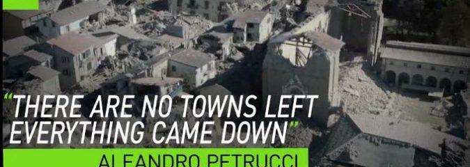 'I saw hell': 6.6 Earthquake Devastates Historic Churches & Buildings in Italy (Drone Footage)