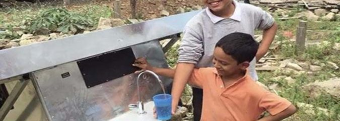 New Solar Panels Pull Drinking Water From The Air Because Clean Water Is A Human Right