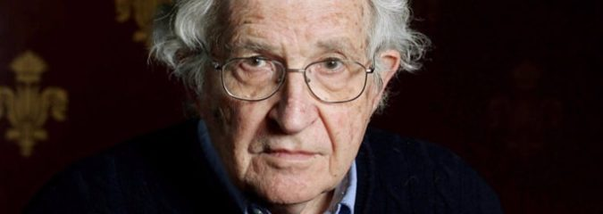 Chomsky: Hate and Fear Caused Trump's Rise, Reminiscent of Nazi Germany