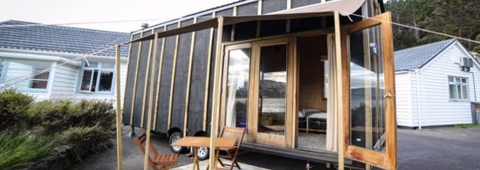 18 Year Old Student With No Construction Experience Builds Tiny Home for Under $20,000