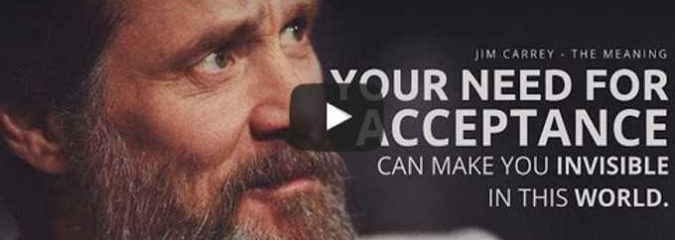Morning Inspiration: How Do You Find Meaning In Life? (Motivational Video with Jim Carrey)