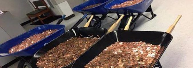 Man Turns the Tables on DMV and Inconveniences the Agency by Paying with 300,000 Pennies