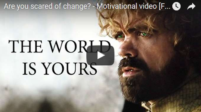 Morning Inspiration: The World Is Yours To Go And Make the Best Of (Motivational Video with Peter Dinklage)