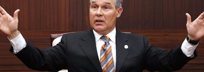 Leading Anti-EPA Activist Scott Priutt Now Heads the Agency (Expect THIS)