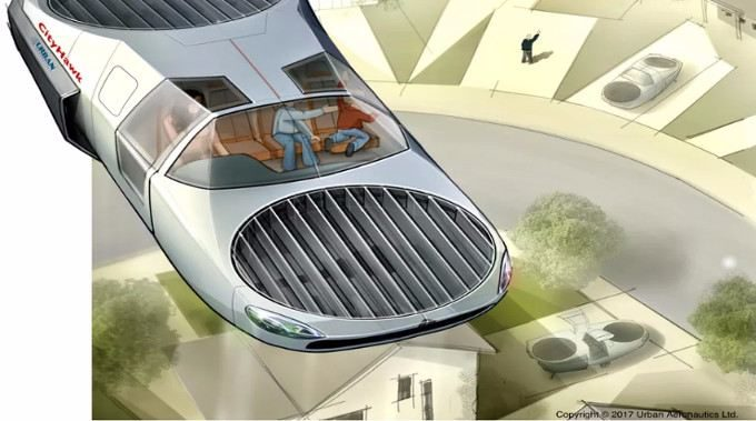 This 'Flying Car' Could Be Buzzing Between Rooftops By 2022