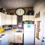 Young Woman Escapes Crazy Rent with This Under 200' Tiny Home (with Big Kitchen!)