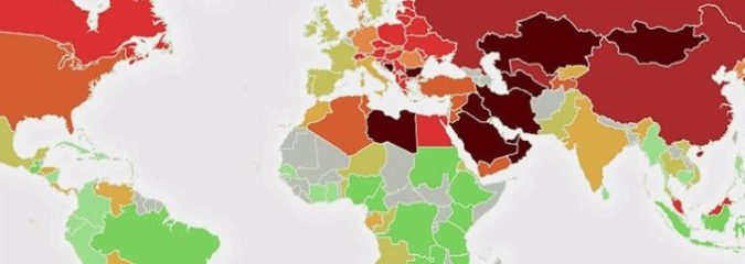 New Map Reveals Where The World's Most Toxic Countries Are