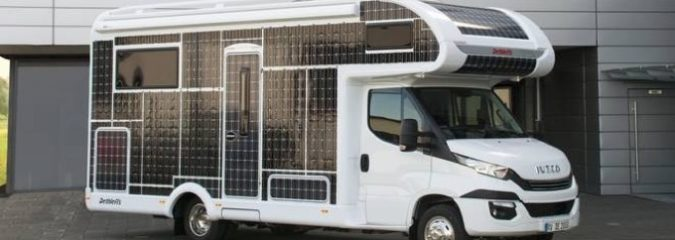 German Company Announces Release of Solar-Powered RV