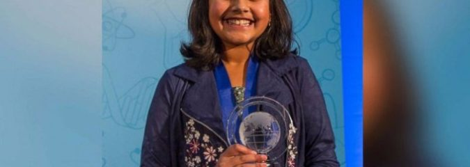 11 Year-Old Girl Wins 'Top Young Scientist' After Creating Amazing Water Testing Technology to Help Flint