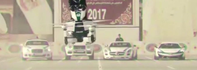 Dubai Adds Hoverbikes To Its Technocratic Police State, Becoming Ground Zero For Cities Of The Future