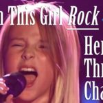 Watch This Young Ukrainian Girl Rock Her Throat Chakra!