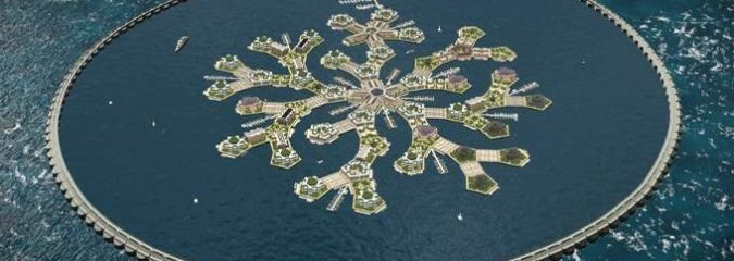 World's First Floating City To Launch In Pacific Ocean By 2020, And Here's How It Will Look
