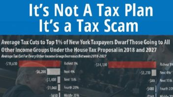 If This Bill Passes, People Will Die': Tax Scam Opponents Rally as GOP Aims for Final Vote Next Week