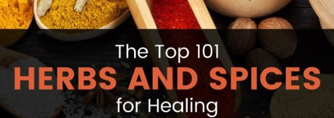 Here Are the Top 101 Herbs and Spices for Healing